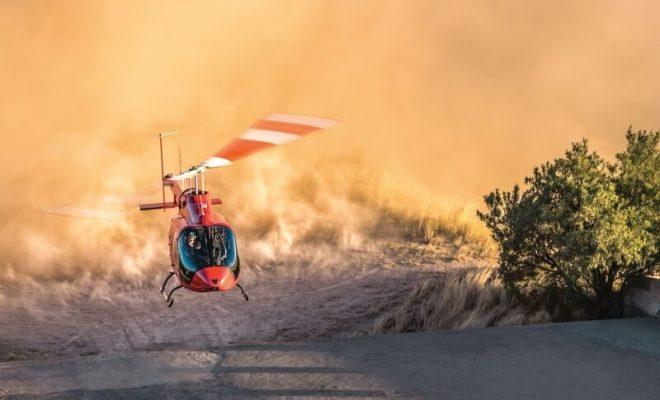 Bell 505 In Flight